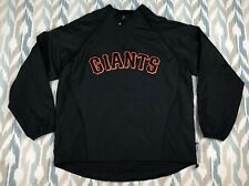 Majestic MLB Men's SF Giants World Series 2010 Fall Classic 1/4 Zip Shirt Size L