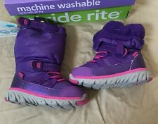 Stride Rite Toddler Boots Size 4 1/5 M