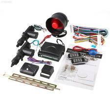2 Door Remote Keyless Entry Central Locking System Kit & Car Security Alarm AU