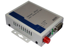 RS-232 Data Fiber Optical Extenders Converters FC - Transmitter and Receiver