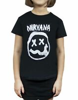 Nirvana Smiley Logo Girl's T-Shirt