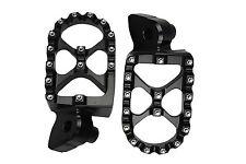 BLACK MX Motocross Footrests Foot Pegs KTM SX EXC 65 125 250 300 450 520 525