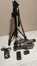 Sony Digital HandyCam DCR-VX1000 Camcorder With Battery, Charger, tripod, remote
