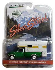 Green Machine 29922 1968 Chevy C10 Cheyenne Camper 1:64 Scale Greenlight CHASE