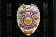 State of South Carolina SC Constable Officer Badge Vintage Entemann Rovin