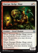 2x duergar hedge-slang (GRIGIO NANO-SIEPI negromante) comandante Anthology Magic