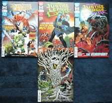 4 Issue COMIC Lot: JUSTICE LEAGUE: DARK #5-7, #5, 6, 7 (reg & VARIANT cover) DC