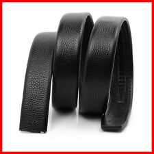 Men's Strap Replacement Leather Waist Belt Buckle without Automatic AU Waistband