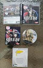 Killer Is Dead for PlayStation 3 / PS3 - With Manual + Case + Insert - TESTED