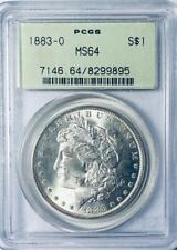 1883-O Morgan Silver Dollar - PCGS MS-64 - Certified Mint State 64