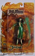 DARK ALLIANCE. JADE ACTION FIGURE. SERIES 1. NEW ON CARD. CHAOS! COMICS.