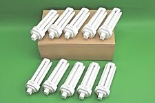 10 x Newlec 32W Energy Saver Bulbs 4 Pin Cool White 4000K G24q-3 8000 Hours