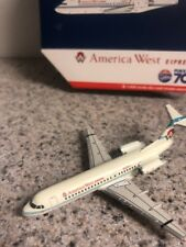 GJ 400 scale diecast model America West Express F-70 Commercial Airliner