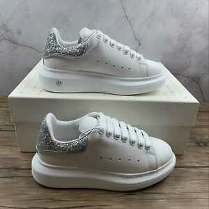 Alexander McQueen Women's Comfortable Little White Shoes