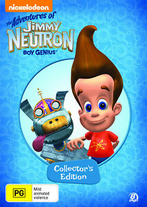 NEW The Adventures of Jimmy Neutron - Collector's Edition (DVD, 8-Disc Set)