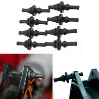 10x Rubber Screws Mount Anti Shock Tools For PC Computer Case Crate Cooling Fan