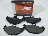Set Pads Brake Pads Rear Simer RENAULT Laguna