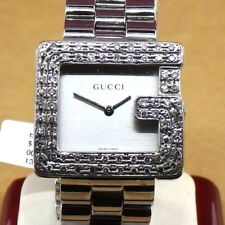 Authentic Gucci 3600M Series Diamond Bezel G Watch