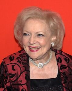 Betty White American actress Glossy Photo print A5 or A4