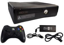Microsoft Xbox 360 S Slim Edition 4GB Black 1439 Gaming Console + Controller