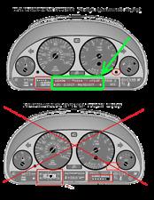 BMW X5 E53 E39 E38 Pantalla LCD Speedo clúster Cinta de reparación de píxeles