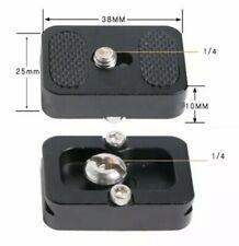 PU-25 Metal Quick Release Plate for Camera Tripod Ball Head Benro Arca Swiss Sa