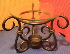 PartyLite Antique Brass Aroma Melt Warmer P8016