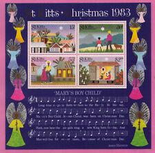 """St. Kitts  - ** / postfrisch/ MNH - Weihnachten 1983 - """"Mary's Boy Child"""""""