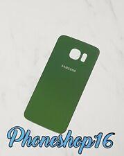 ORIGINALE Samsung Galaxy s6 Edge sm-g925f COVER POSTERIORE COPERCHIO COVER POSTERIORE VERDE A