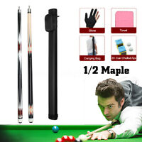 8Pcs/Kits 57'' Pool Cue Snooker billiards Accessories Cue Bags Chalk Glove Cover