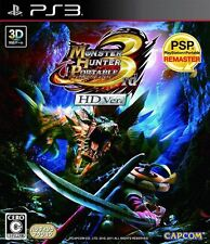 Monster Hunter Portable 3rd HD Version PS3 Capcom Playstation 3 Japan gebraucht
