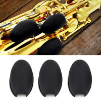 3x Rubber Saxophone Palm Key Pads Key Risers Cushions for Soprano Alto Tenor Sax