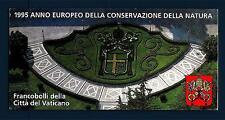 VATICANO - Libretto - 1995 - Anno europeo della Conservazione della Natura