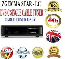 Zgemma Star LC Single Tuner FTA HD TV Receiver Enigma2 Linux Updated DVB-C h2