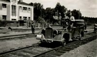 WW 2 Russland Feldzug 43 Testfahrt2 Spezial Schienenfahrzeug Sikejevo - Brjansk