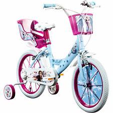Kinderfahrrad Disney Frozen 16 Zoll Eiskönigin Fahrrad Kinder ab 4 Mädchenrad