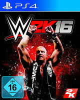 WWE 2K16 (Sony PlayStation 4, 2015) - sehr guter Zustand