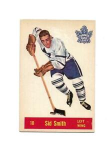 1957-58 Parkhurst:#10 Sid Smith,Maple Leafs
