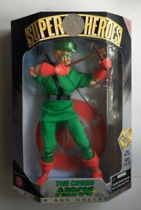NEW 1999 HASBRO DC SUPER HEROES GREEN ARROW SILVER AGE COLLECTION FIGURE! R101
