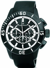 Folli Follie Olyteus Chronograph Steel Black Dial Men's Watch