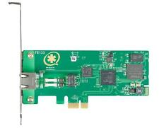 NEW Digium TE133F Single T1 PCIe Card with Echo Cancellation