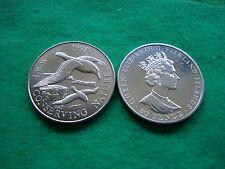 FALKLAND ISLANDS 1997 WWF CONSERVING NATURE 50P ALBATROSS BRILL/ UNC. FREEPOST