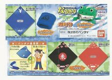 Naruto Narukiri Headband accessories Part 1 gashapon set Bandai