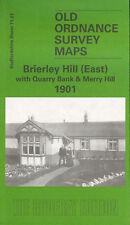 Mapa » de Brierley Hill (e) Quarry Bank & Merry Hill 1901