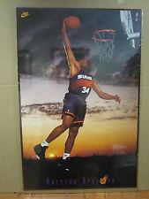 Vintage Charles barkley NIKE  poster basketball NBA 1993 2084