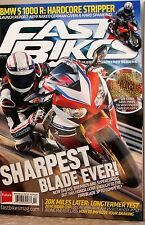 FAST BIKES Magazine BMWs 1000R 20 pg SPECIAL on World Champ TOM SYKES $11 Feb14