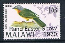 Malawi 1970 Birds Rand Easter Show SG 350 MNH