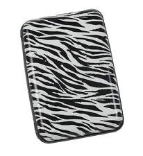 """Safe Guard Card Aluminum I.D """"White Zebra"""" Credit Card Wallet"""