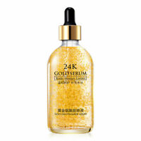 24k Gold Facial Skin Care Anti wrinkle Anti-Aging Face Essence Serum Cream NEW