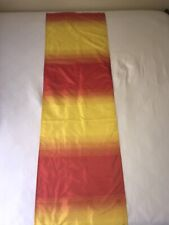 """Table Runner Red Yellow 69"""" X 18"""""""